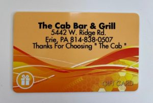 The Cab Bar & Grill card